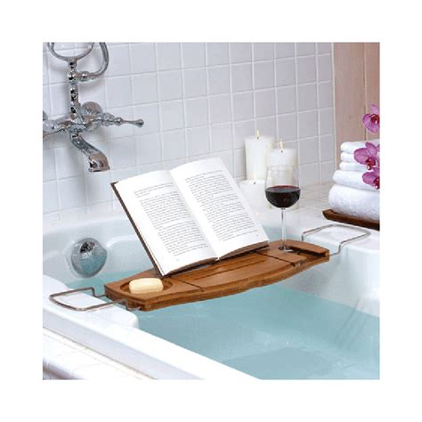 bamboo bath caddy uk new umbra aquala bathtub caddy shower bamboo book