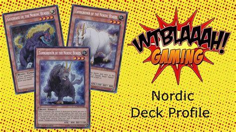 yugioh nordic deck profile september 2015
