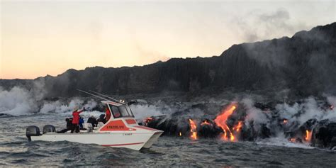 Private Lava Boat Tours Hawaii by Lava Boat Tour Hawaii Insider