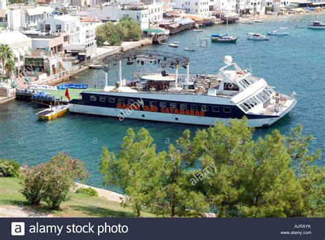 Catamaran Bodrum Video by Panorama Of Bordum In Turkey With Famous Disco Marine Club