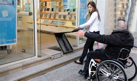 carcassonne commerce rues de tous les handicaps 01 03 2014 ladepeche fr