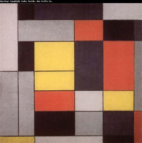Piet Mondrian by Surreal Art Piet Mondrian S Abstract Trees Art Painting