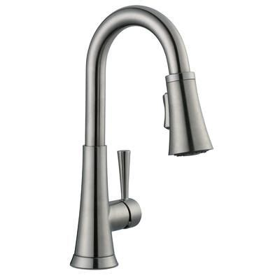glacier bay 925 series bar faucet in brushed nickel 67156 1004 home depot canada kitchen