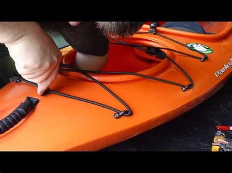 installing yakgear deck rigging kit on wilderness systems kayak