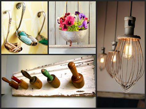 best ideas to reuse kitchen items recycled utensil home decor