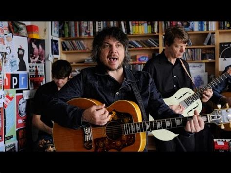 wilco plays tiny desk concert thought on tracks
