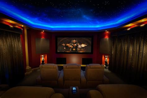 Beautiful Curtains For Your Media Room
