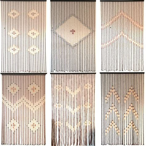 1000 ideas about beaded door curtains on