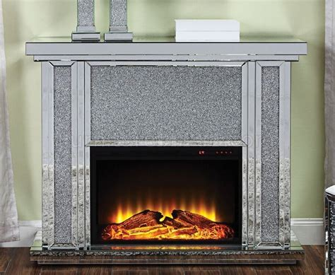 Nowles Fireplace 90457 In Mirror & Faux Crystals By Acme Carpet World Flooring Ltd Tarkett Worthington Reviews Gym Commercial Cost Per Square Foot Marley Industrial San Antonio Technologies Hamden Ct Wood Laminate Houston