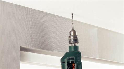 fixer un rail pour rideaux au plafond gamma be