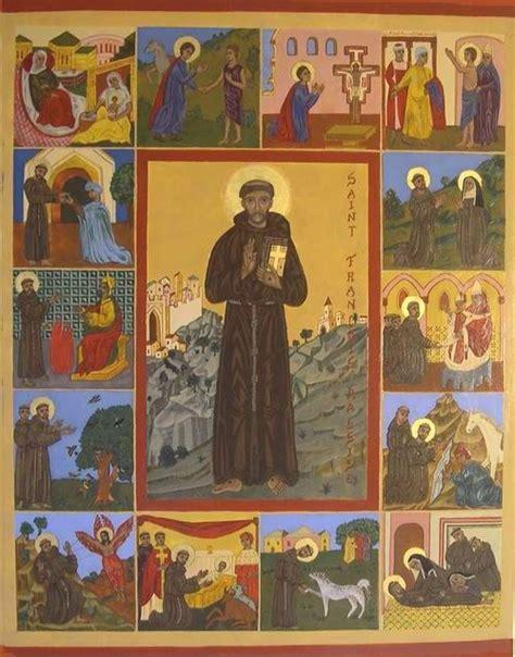 icone de la vie de fran 231 ois photo de fran 231 ois d assise images saintes