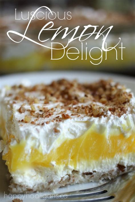 lemon delight an easy to make dessert