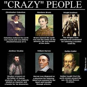 """""""crazy"""" people, the info on Columbus is in error. No one ..."""