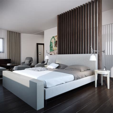 Excellent Modern Bed Design Ideas Features Gray Color Bed