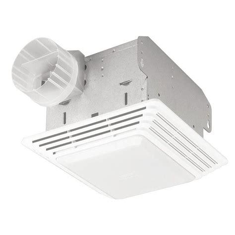 50 cfm broan 678 ventilation fan light combo bathroom ceiling toilet vent new ebay