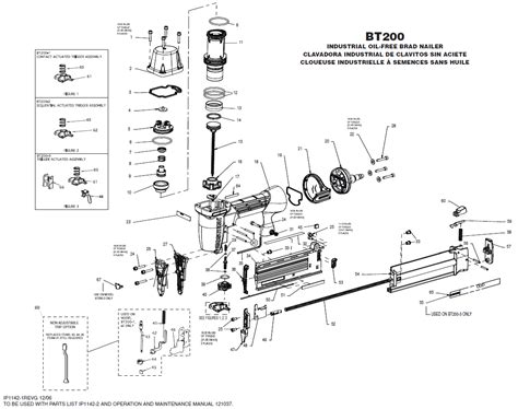 bosch floor nailer parts diagram carpet vidalondon