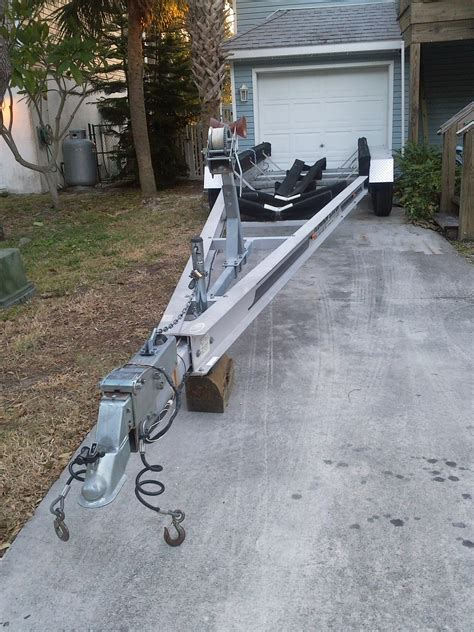 Boat Trailer Triple Axle Used by Triple Axle Trailer For Sale The Hull Truth Boating