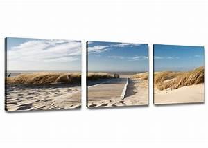 Bild 3 Teilig Auf Leinwand : leinwand wandbilder verschiedene bilder motive 150 x 50 cm dreiteilig 1575 d1 ebay ~ Markanthonyermac.com Haus und Dekorationen