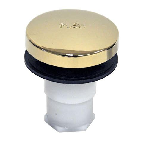 home depot bathtub drain danco touch toe bathtub drain stopper polished brass
