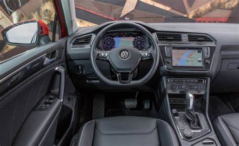 2018 Vw Tiguan Release Date, Configurations And Interior