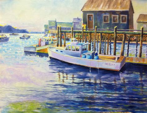 Lobster Boat Art by Lobster Boat Art By Gary O Connor