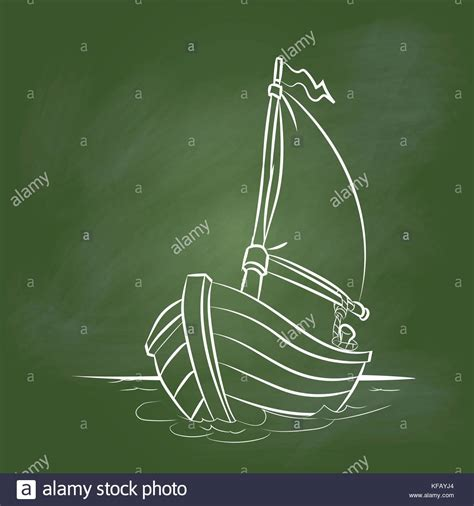 Cartoon Boat Wake by Boat Wake Stock Vector Images Alamy