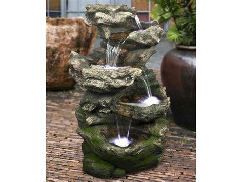 Fontaine De Jardin Norfolk Rochers Avec Cascade Jardideco