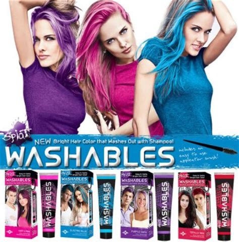 Temporary Hair Color Products That Wash Out Easy Brush