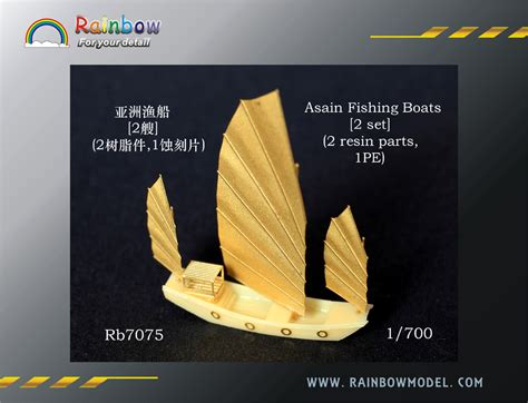 Purchase Boats Online by Nnt Asian Fishing Boats 2 Set Purchase Online