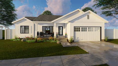 Farmhouse House Plan #1001210 3 Bedrm, 1185 Sq Ft Home