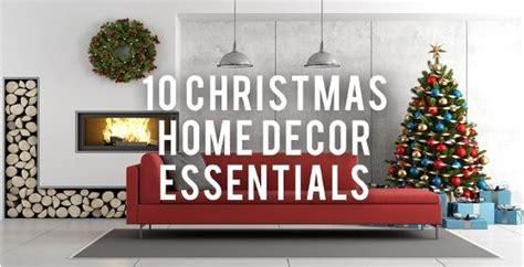 Home Decor Essentials : 10 Christmas Home Decor Essentials