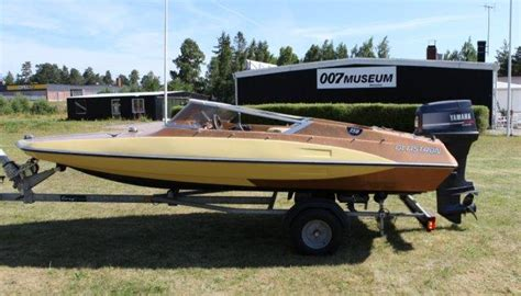 Boats Used In James Bond Movies by Glastron Gt 150 James Bond Boat Nybro Sweden 007 Museum