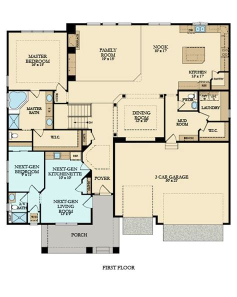 evolution new home plan in summerlyn summerlyn classic