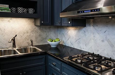 polished carrara backsplash 2x8 quot subway tiles the tile shop kitchen ideas