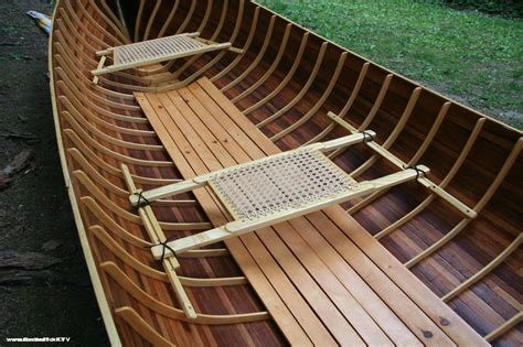 Homemade Wooden Boat Plans by Adirondack Guide Boat Handmade From Wooden Boat Plans