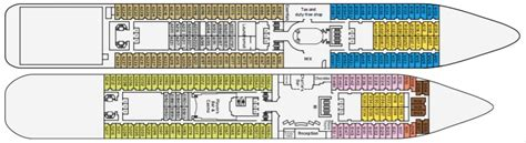 pacific pearl cruise ship deck plans