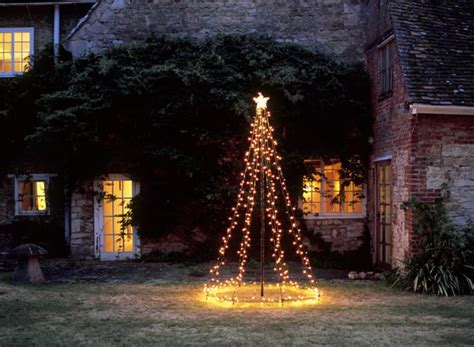 Flagpole Christmas Tree Topper by Diy Christmas Light Decoration Ideas Outdoor Christmas