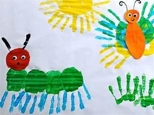 Gemalte Bilder Von Kindern : 89 besten basteln mit kindern bilder auf pinterest bastelarbeiten kinder handwerk und kita ~ Markanthonyermac.com Haus und Dekorationen