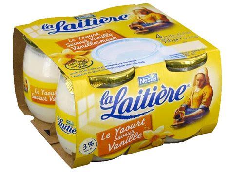 yaourt saveur vanille les 4 pots de 125g tous les produits yaourts natures prixing