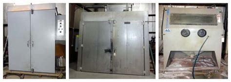 powder coating and custom fabrication liquidation