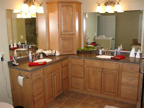 l shaped vanity bathroom renovations