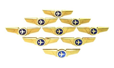 Toy Boat Party Favors by Kids Aviator Airplane Pilot Wings Plastic Pins Party Favor