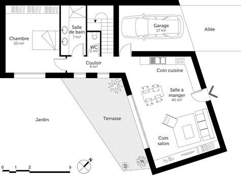 plan maison en v contemporaine 120 m 178 ooreka