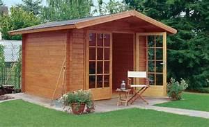 Betonplatten Mit Holzstruktur : gartenhaus aufbauen ~ Markanthonyermac.com Haus und Dekorationen
