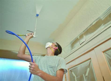 spray paint decorators spray ceilings walls haywood coatings