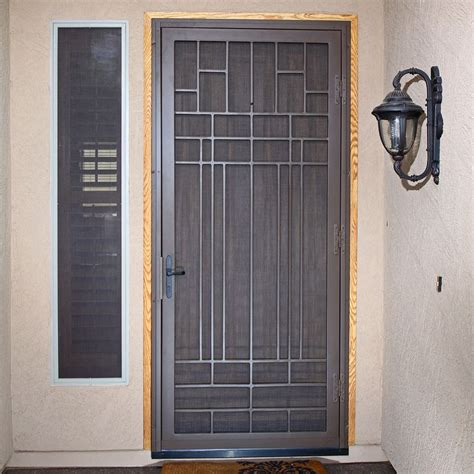 Great Security Screen Doors And Titan Security Doors And. Screen Porch Doors. Above Ground Spa. Easy Breeze Windows. Wood Floor Lamps. Custom Entertainment Center. Brown Cabinets. Bar Height. Rustic Living Room Ideas