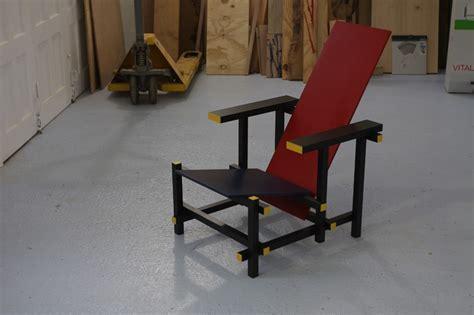 la chaise et bleue de rietveld