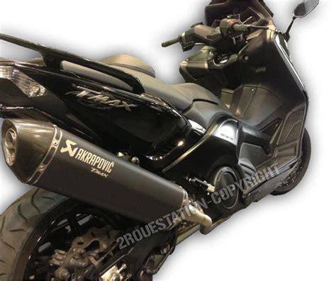 pot d echappement ligne compl 200 te akrapovic black noir yamaha tmax 500 530 08 16 ebay