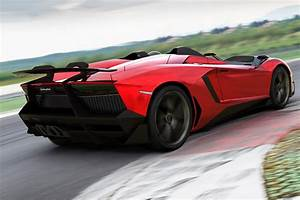 Autofarben Trend 2017 : lamborghini aventador j is a one off speedster for a very very rich and lucky buyer ~ Markanthonyermac.com Haus und Dekorationen