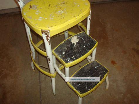 vintage cosco step stool chair bar stools